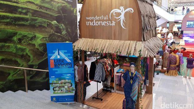 Booth Little Bandung (Kurnia/detikTravel)