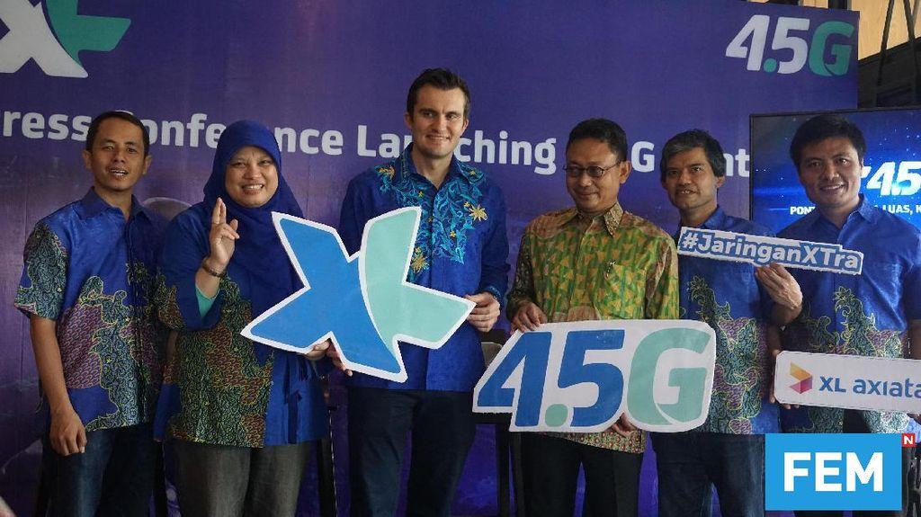 XL Perluas Akses 4G LTE ke Kalimantan Barat