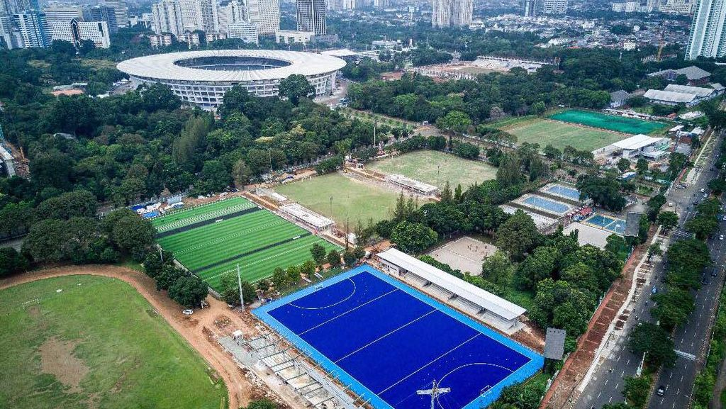 Begini Kesiapan Infrastruktur Asian Games XVIII 2018