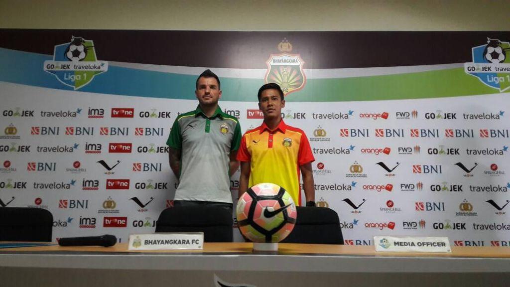 Agar Tak Kehilangan Poin, Bhayangkara FC Dituntut Jaga Konsentrasi