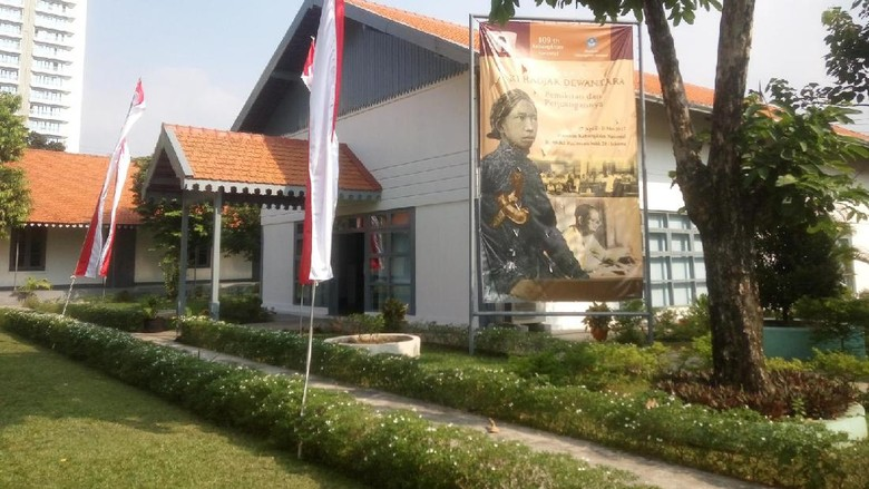 Museum Kebangkitan Nasional sedang menggelar pameran sejarah Ki Hajar Dewantara (Syanti Mustika/detikTravel)
