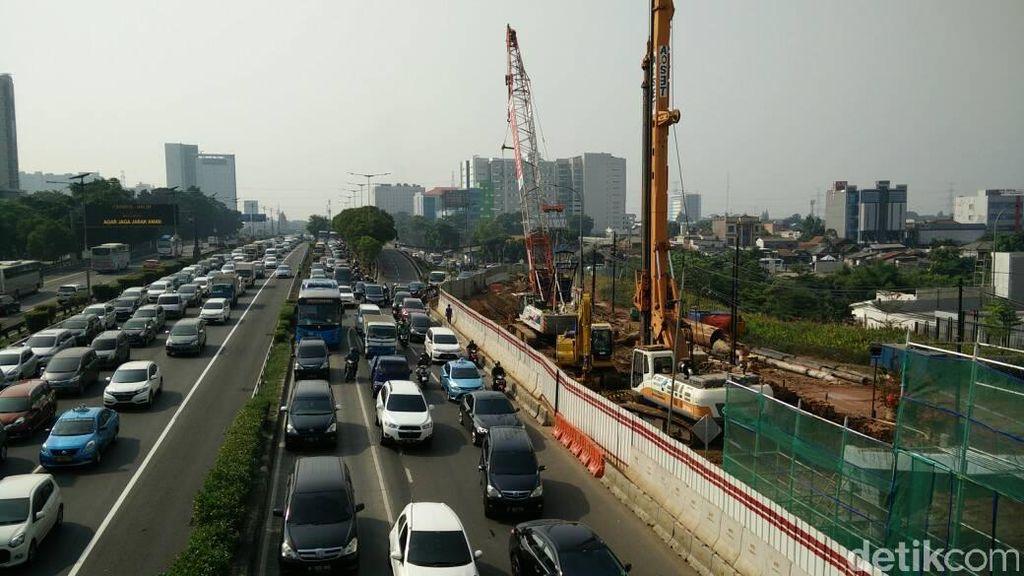 Progres LRT Jabodebek Baru 15%