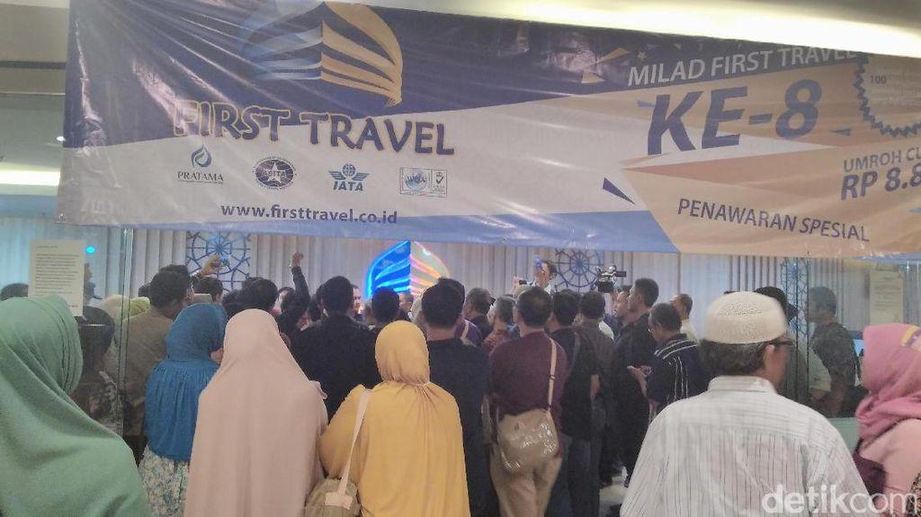 First Travel Dilarang Tarik Uang Masyarakat Lagi
