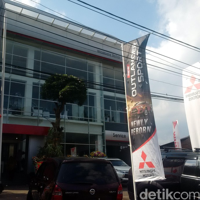 Diler Baru Mitsubishi di Bandung