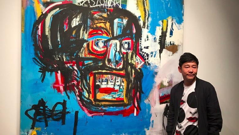 Fantastis! Lelang Lukisan Basquiat Terjual Hampir Rp 1,5 Triliun