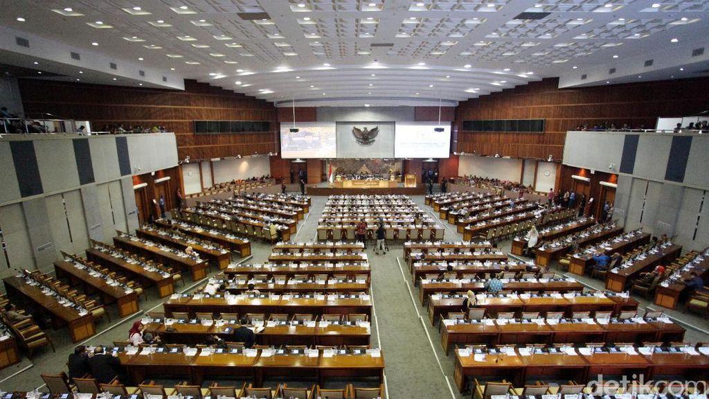 Fraksi Golkar Setuju Kursi Pimpinan Parlemen Ditambah