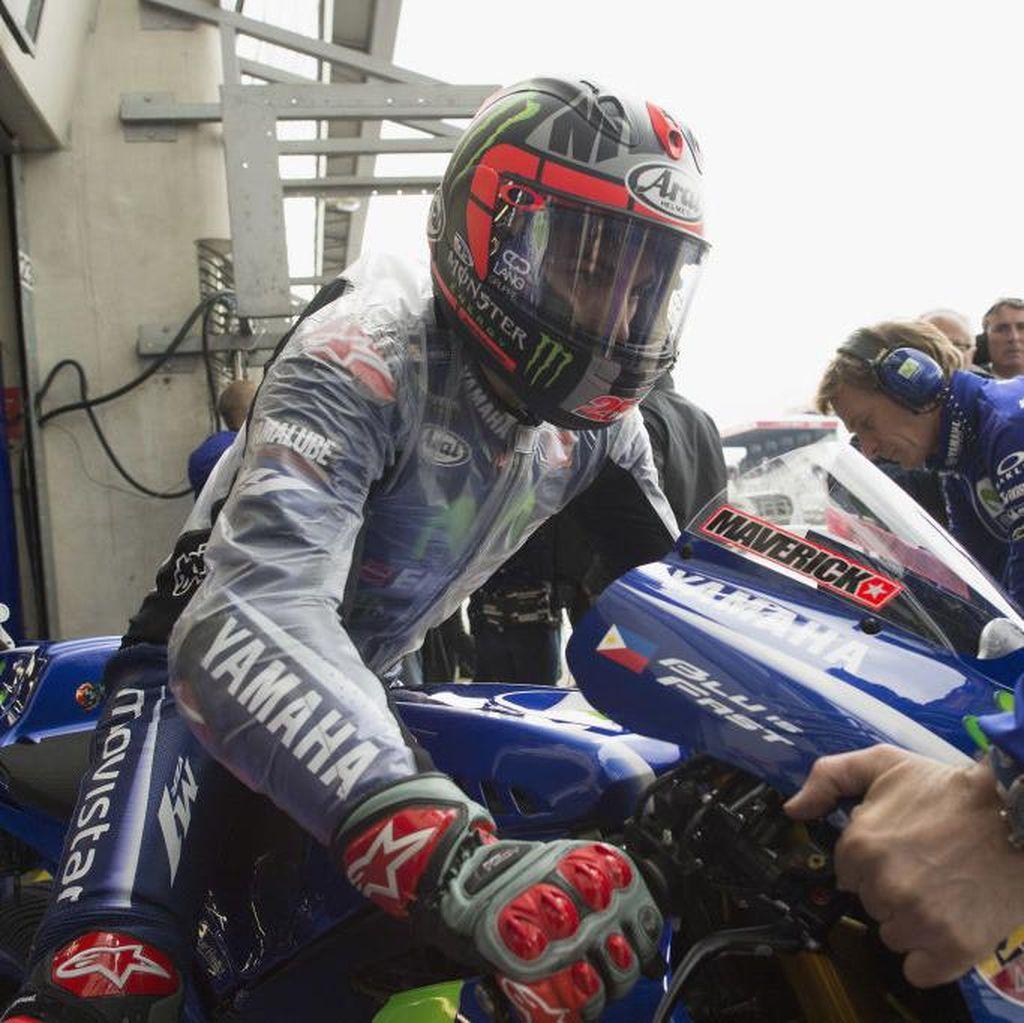 Vinales Pole, Rossi Kedua, Zarco Ketiga