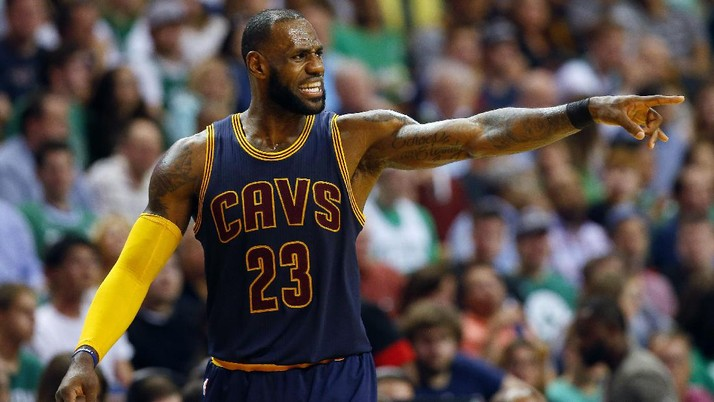 Cleveland Cavaliers Lumat Celtics