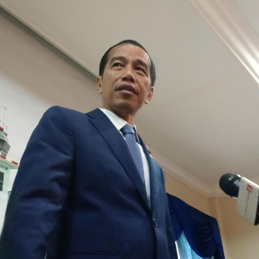 Tiba di Halim, Jokowi Langsung Rapat dengan JK, Wiranto dan BG
