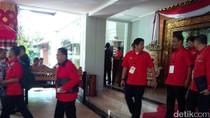 Megawati Buka Rakernas PDIP di Bali
