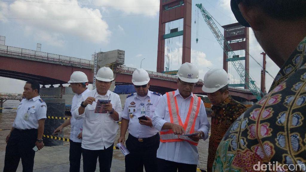 Menhub: Tiket LRT Palembang Rp 7.000-8.000 per Orang