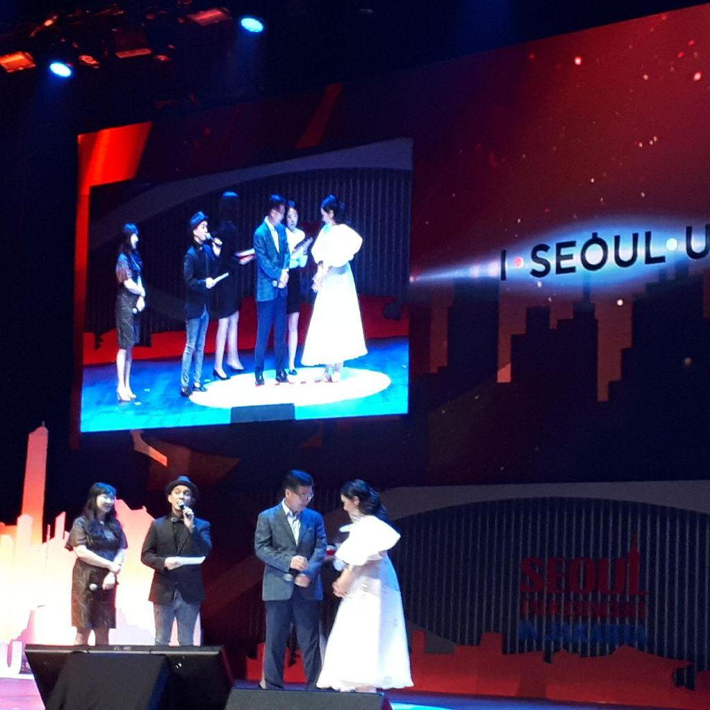 Gita Gutawa Didapuk Jadi Duta Kehormatan Pariwisata Kota Seoul