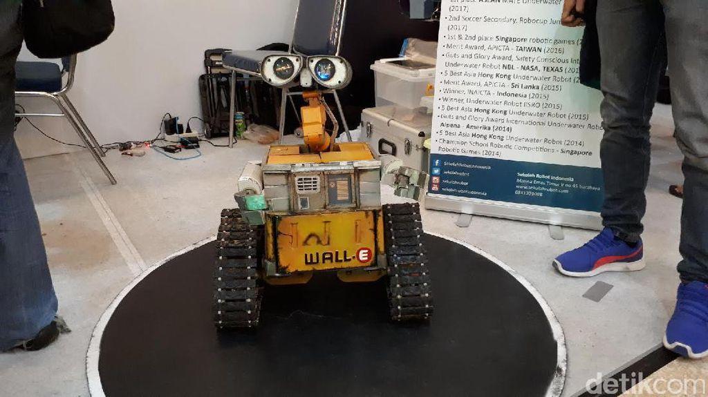 Ada Penampakan Wall-E di Geekfest