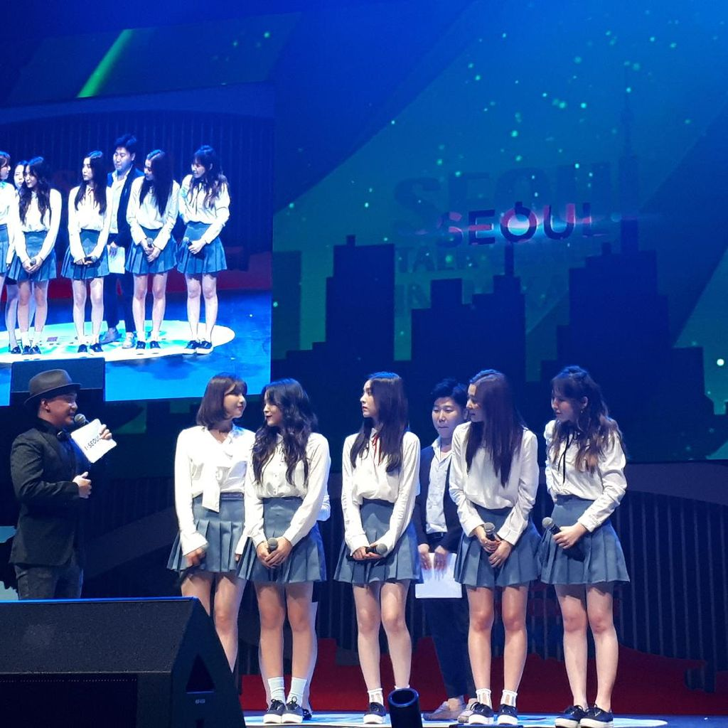 Red Velvet Sukses Bikin Heboh Seoul Talk Concert in Jakarta