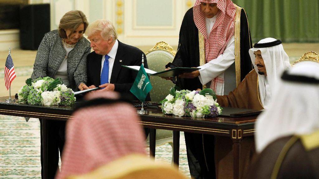 Ini Alasan Raja Salman Gandeng Perusahaan-Perusahaan AS
