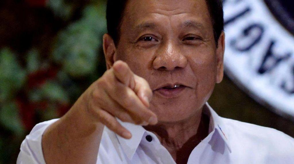 Terapkan Darurat Militer, Duterte Punya Pesan Untuk Para Teroris