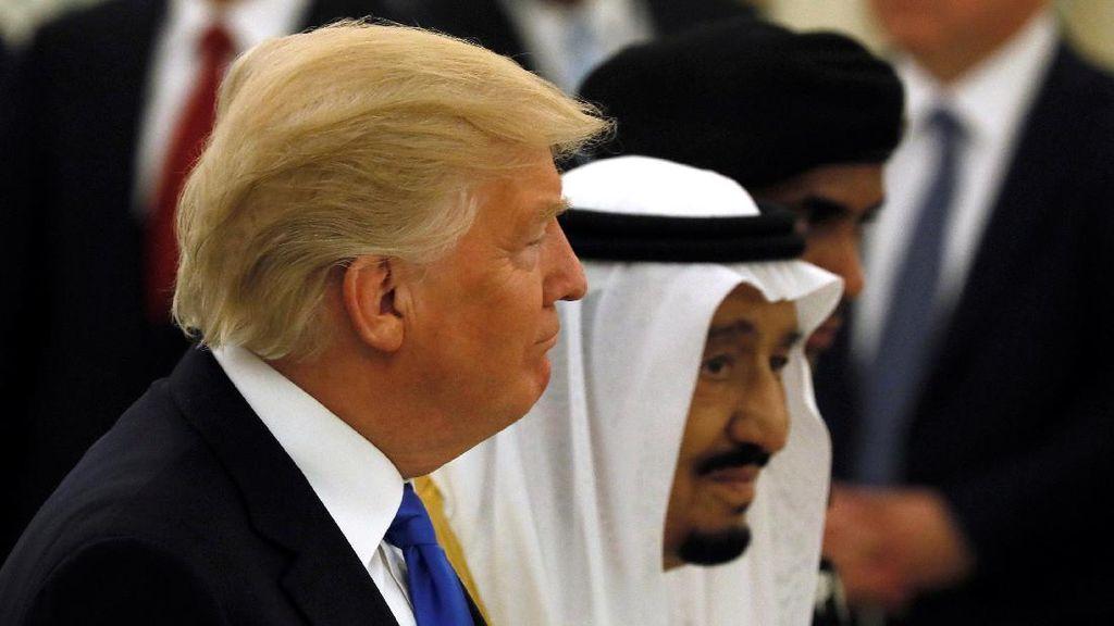 Trump ke Arab, Aramco Deal Rp 665 T dengan Perusahaan AS