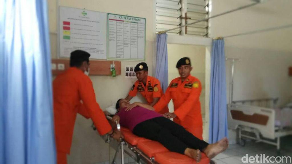 Dua Korban Luka KM Mutiara Dievakuasi ke Makassar