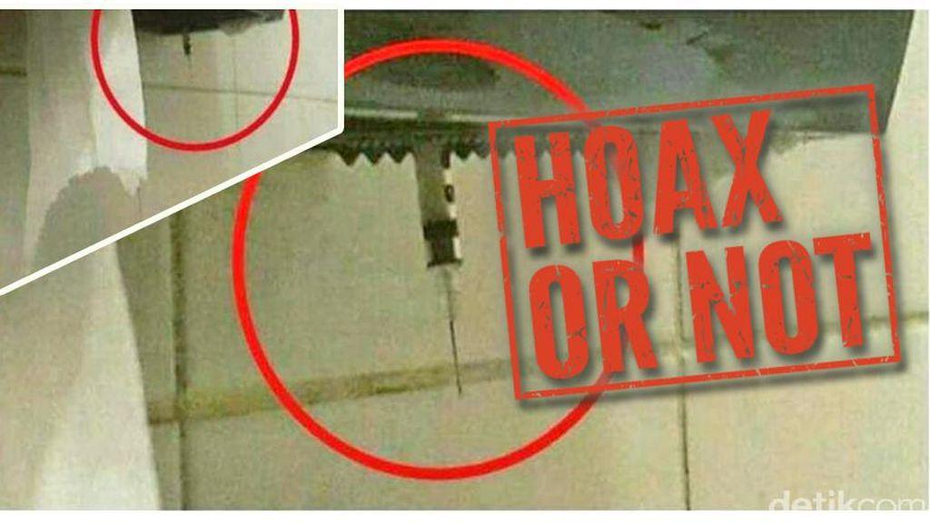 Viral, Beredar Foto Jarum Suntik Penular HIV-AIDS di Toilet Umum