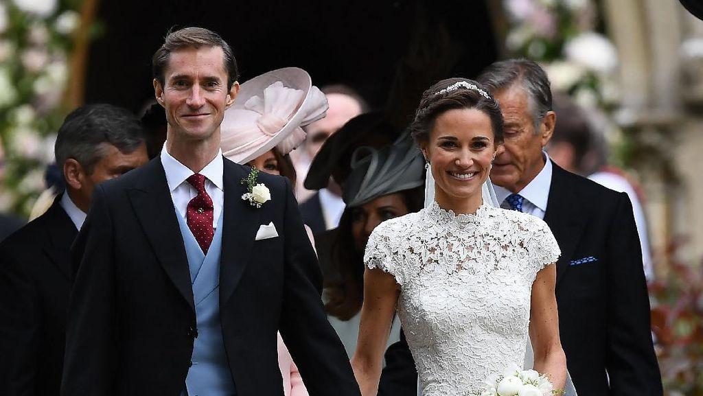 Pippa Middleton Pamer Lengan Berotot di Hari Pernikahannya