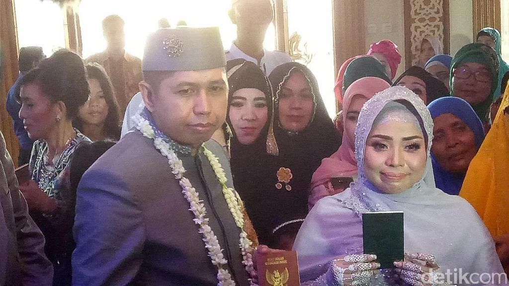 Seserahan Pernikahan Muzdhalifah Ala Kadarnya