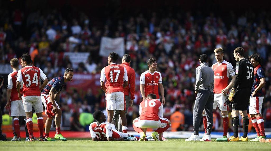Arsenal Gagal Finis Empat Besar untuk Pertama Kalinya di Era Wenger
