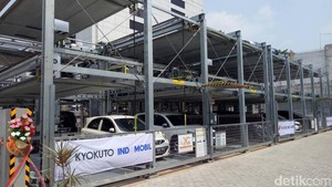 Keren, Parkir Mobil Tingkat Otomatis