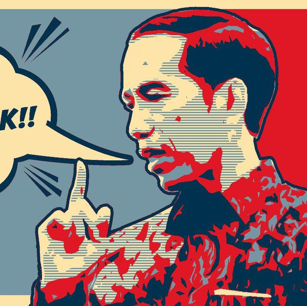 Sekali Lagi, Membaca Isyarat Gebuk Presiden Jokowi