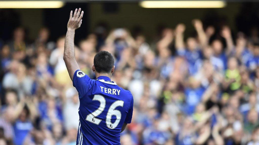 John Terry Bebas Hukuman Terkait Laga Perpisahannya di Chelsea