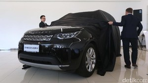 Peluncuran Land Rover All New Discovery