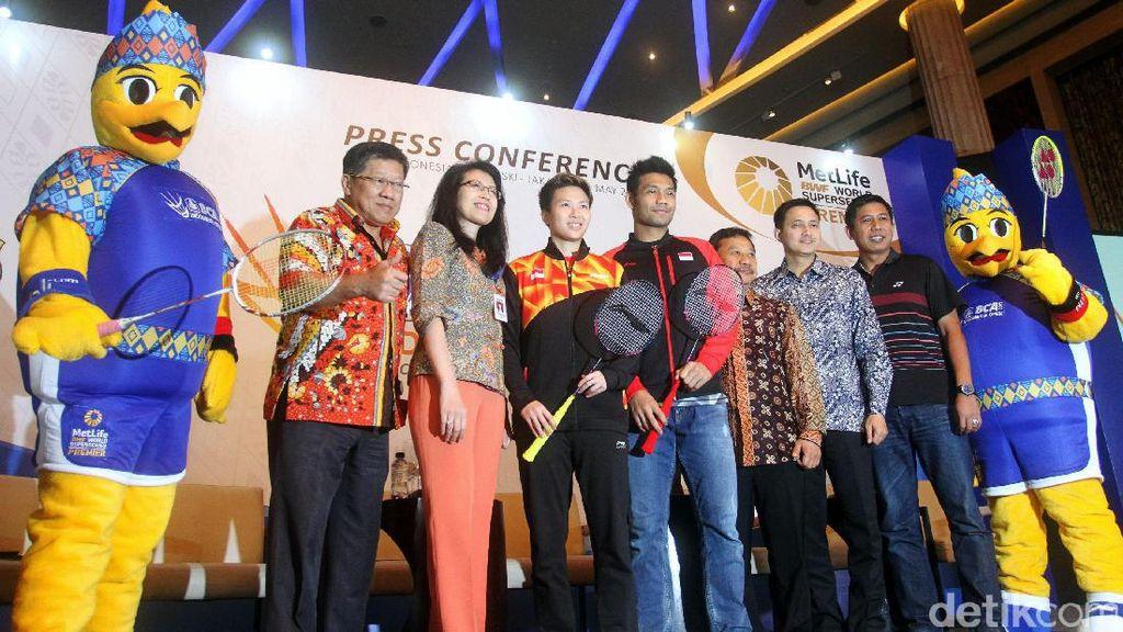 Pindah Venue, Harga Tiket Indonesia Terbuka 2017 Lebih Mahal