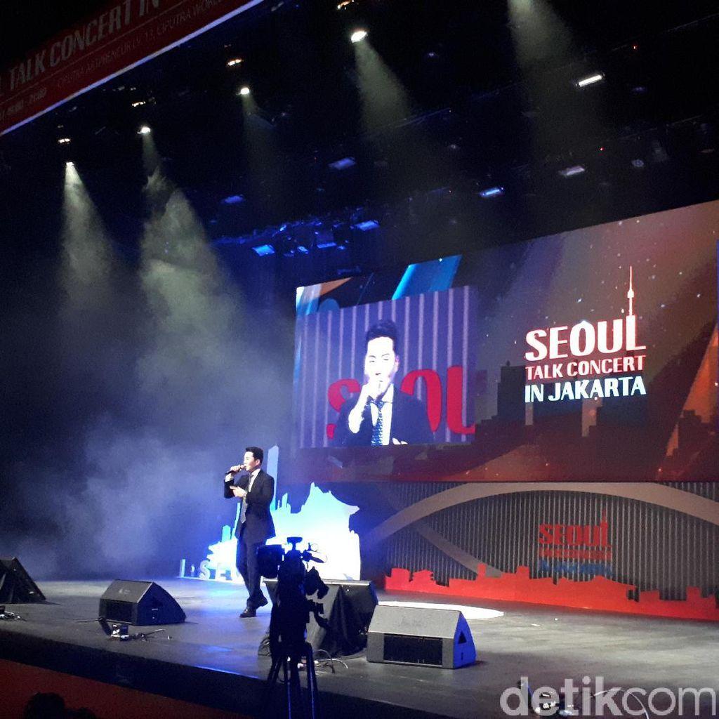 Eru Promosikan Wisata Muslim di Seoul Talk Concert in Jakarta