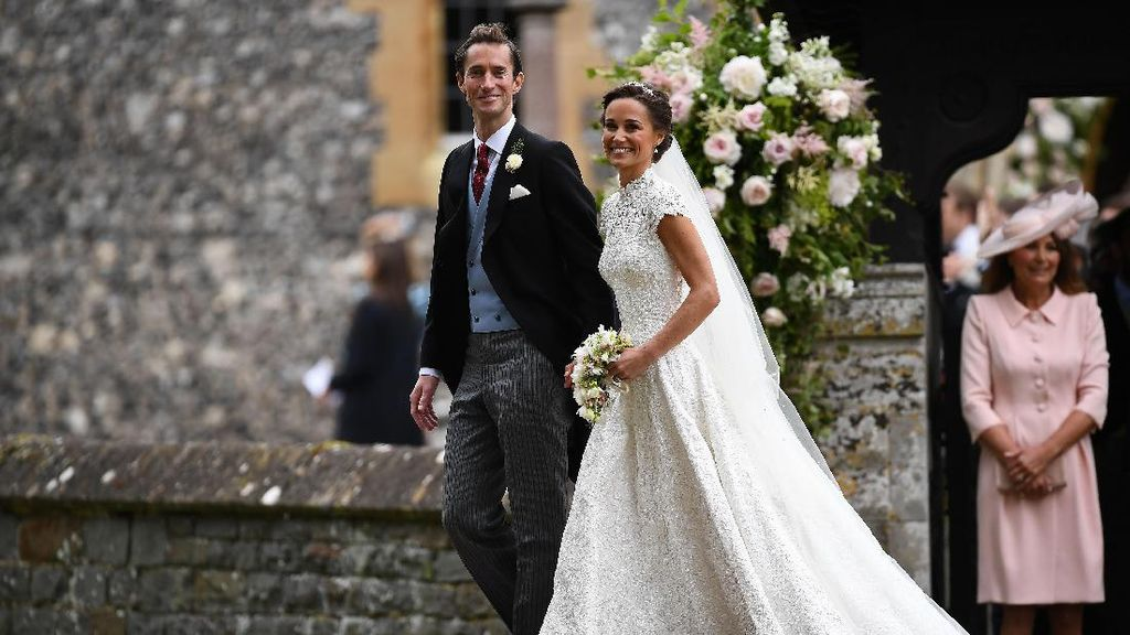 7 Fakta Pernikahan Pippa Middleton Vs Kate Middleton dalam Angka