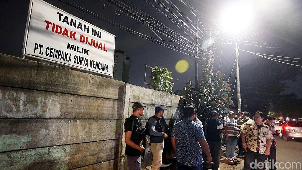 Eksekusi Lahan di Kuningan Belum Selesai, Polisi Masih Berjaga