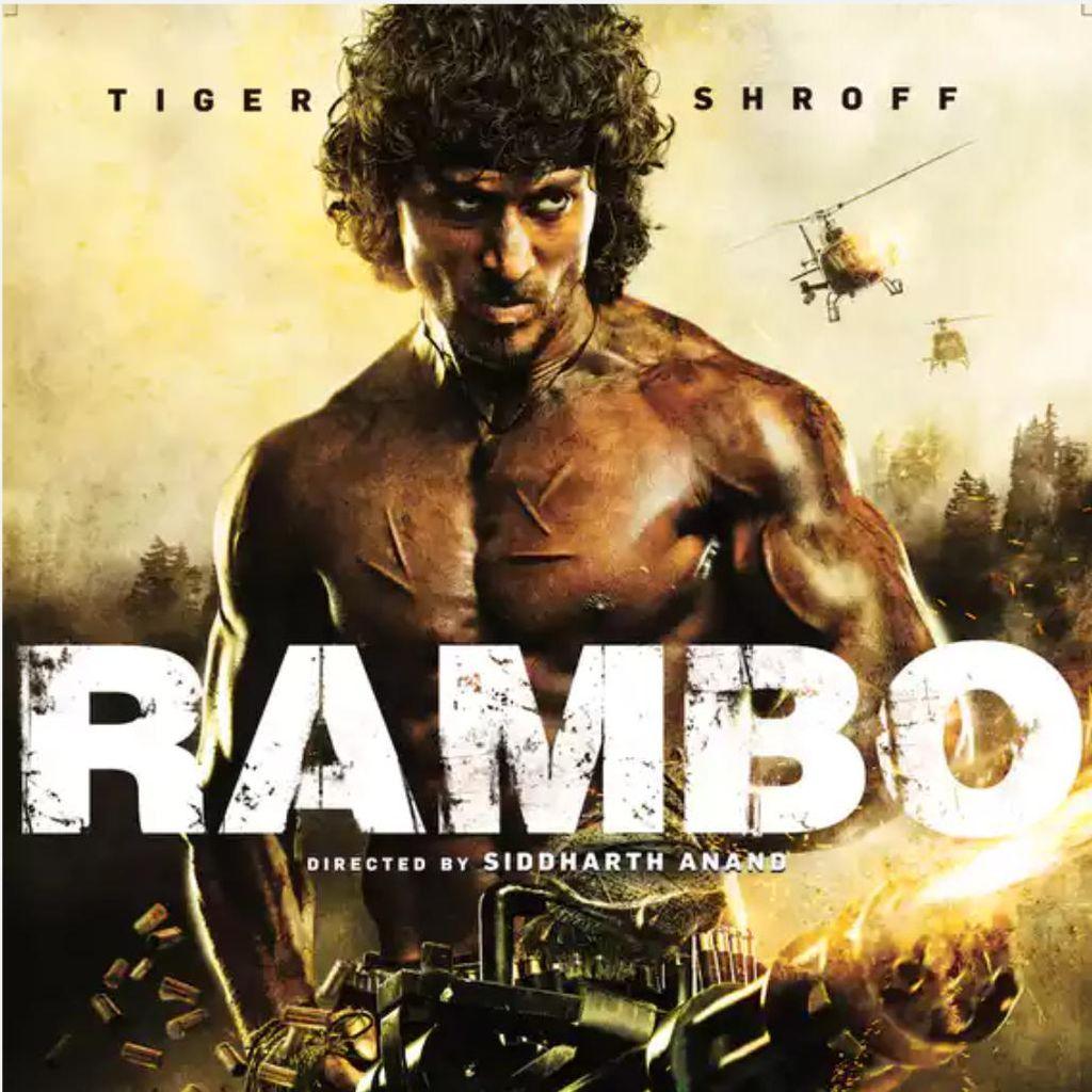 Ini Poster Film Remake Rambo Produksi India