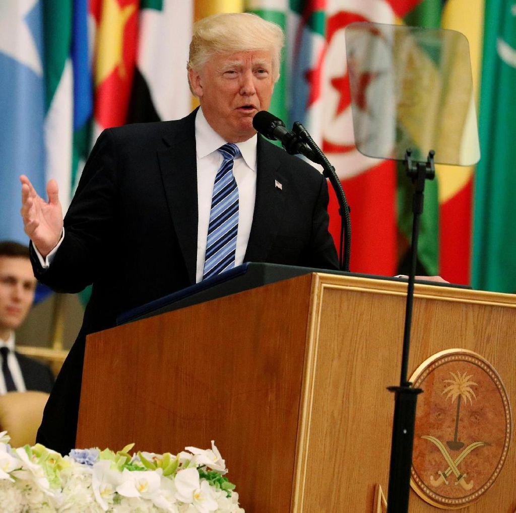 Donald Trump Bantah Bocorkan Data Intelijen Israel ke Rusia