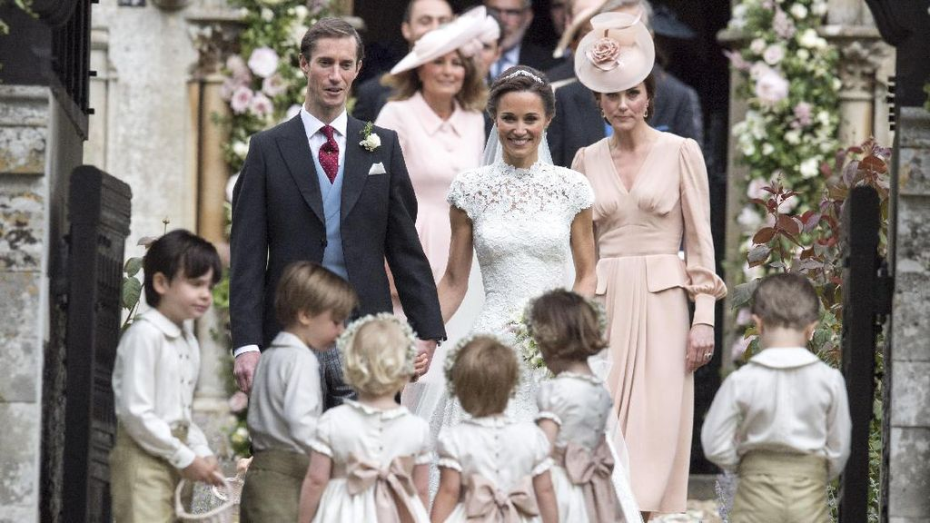 Dinikahi Miliuner, Pippa Middleton Pilih Cincin Pernikahan Sederhana