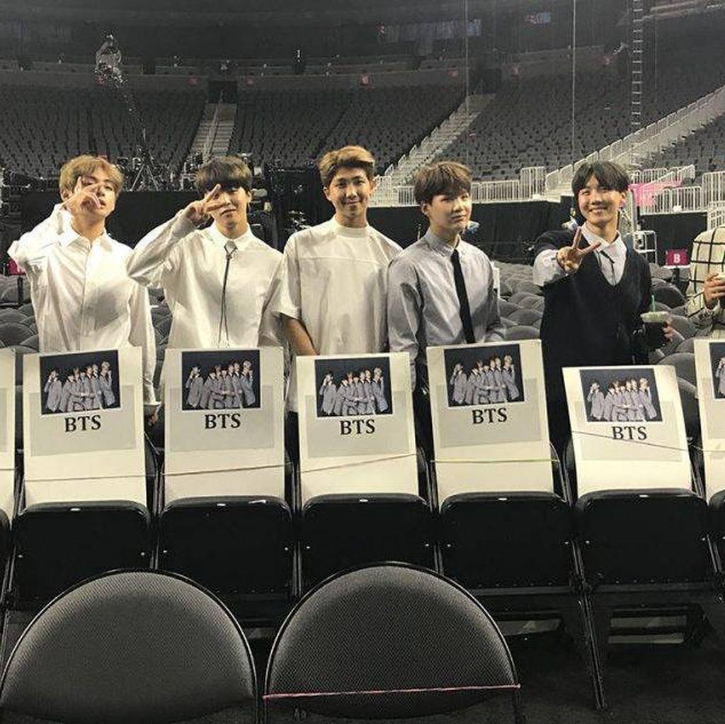 Congrats! BTS Bawa Pulang Piala di Billboard Music Awards 2017