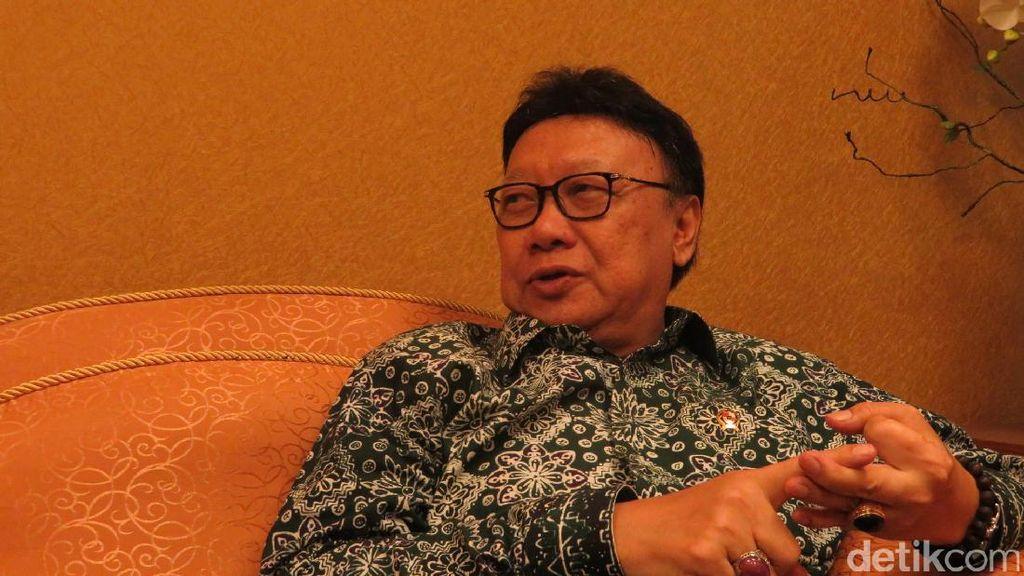 Soal Eks Menteri Anti-Pancasila, Tjahjo: Biar Klarifikasi Sendiri