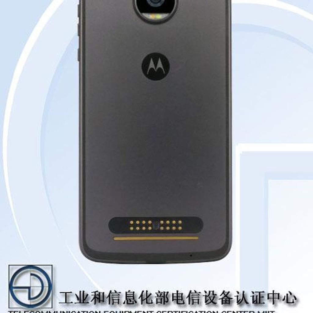 Bocoran Moto Z2 Play: Snapdragon 626, RAM 4 GB, Baterai Menyusut