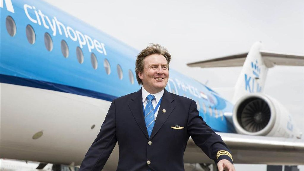 Rahasia Raja Belanda: 21 Tahun Jadi Pilot Pesawat Komersil