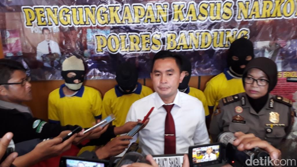 Hingga Mei 2017, Pengungkapan Narkoba di Kabupaten Bandung Capai 45 Kasus