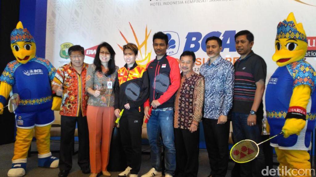 Suguhan Berbeda nan Spesial di Indonesia Terbuka 2017