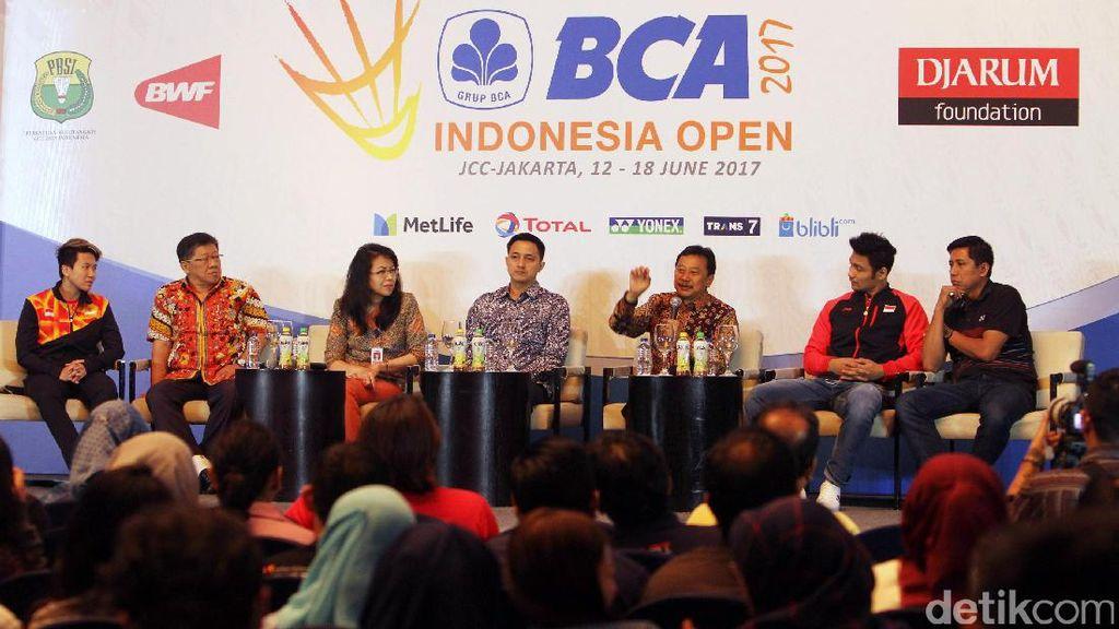 Digelar Bulan Puasa, Panpel Indonesia Terbuka 2017 Pede Penonton Membeludak