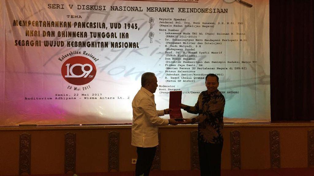 12 Tokoh Nasional Terima Penghargaan Bhinneka Tunggal Ika 2017