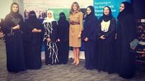 Melania Trump Puji Pemberdayaan Wanita di Arab Saudi