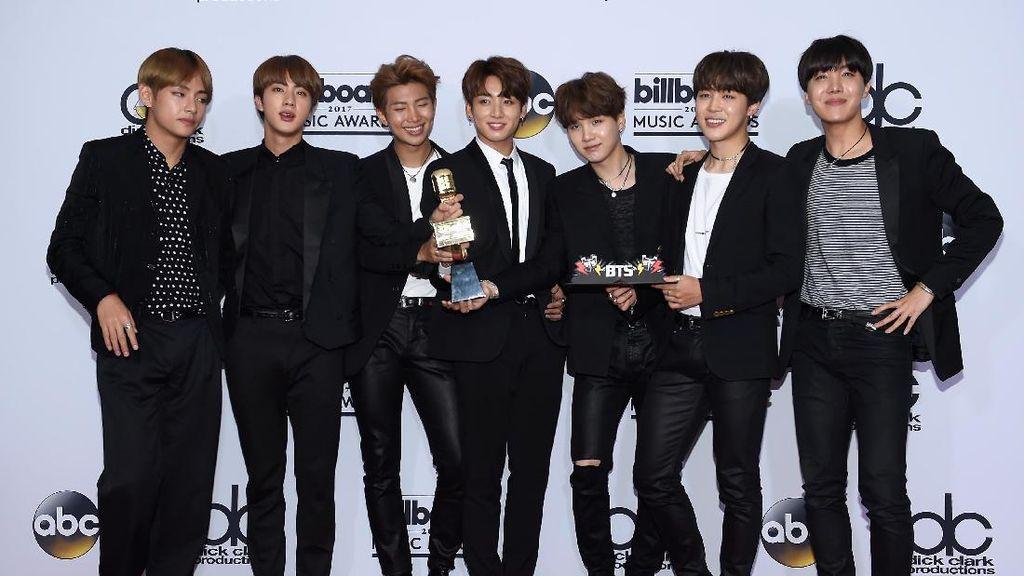 BTS Curi Perhatian Jadi Grup K-pop Pertama di Billboard Music Awards