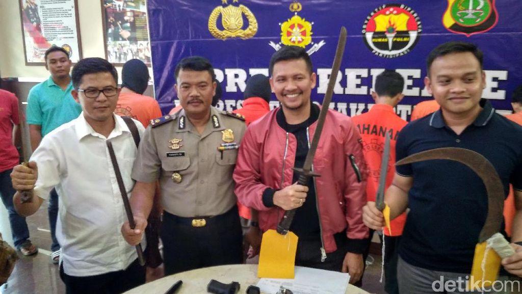 Polisi: Anggota Geng Motor Buat Onar agar Jadi Ketua