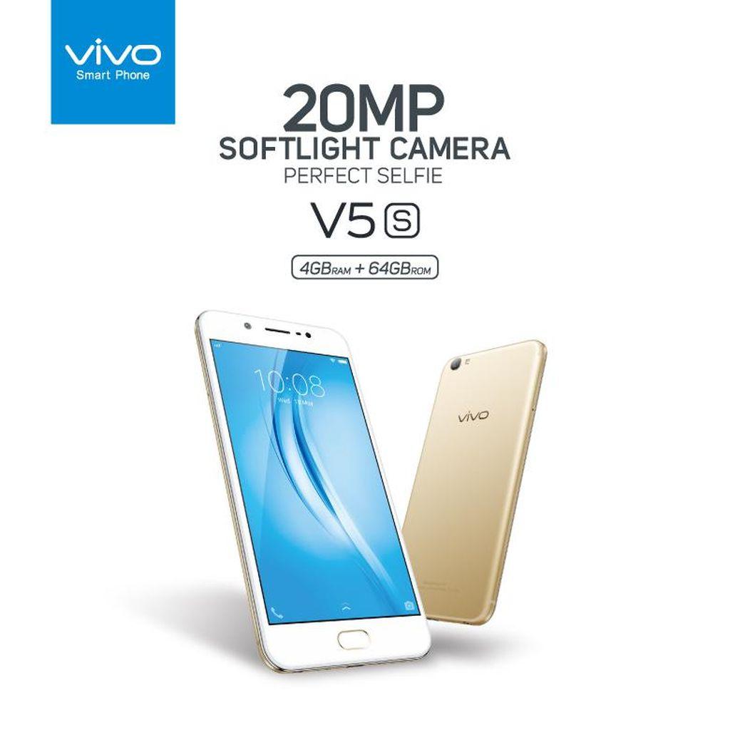 Vivo V5s, Smartphone Selfie Dengan Kapasitas RAM Besar!