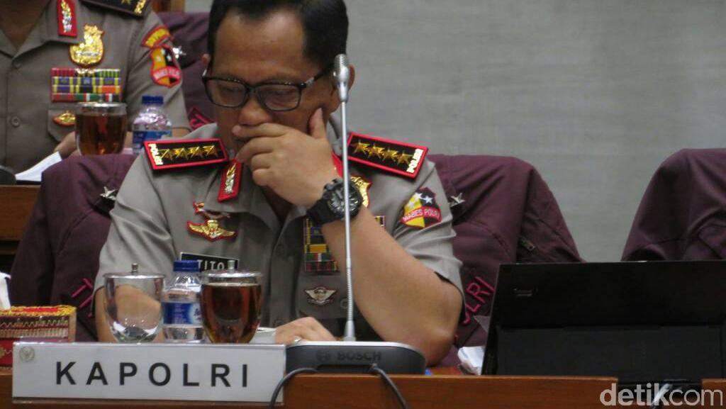 Kapolri: Laporan Antasari Tidak Perlu Dipermasalahkan Lagi